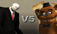 Slenderman vs. Freddy the Fazbear