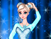 Elsa Ballerina Dress up